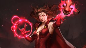 Scarlet Witch HD Wallpaper