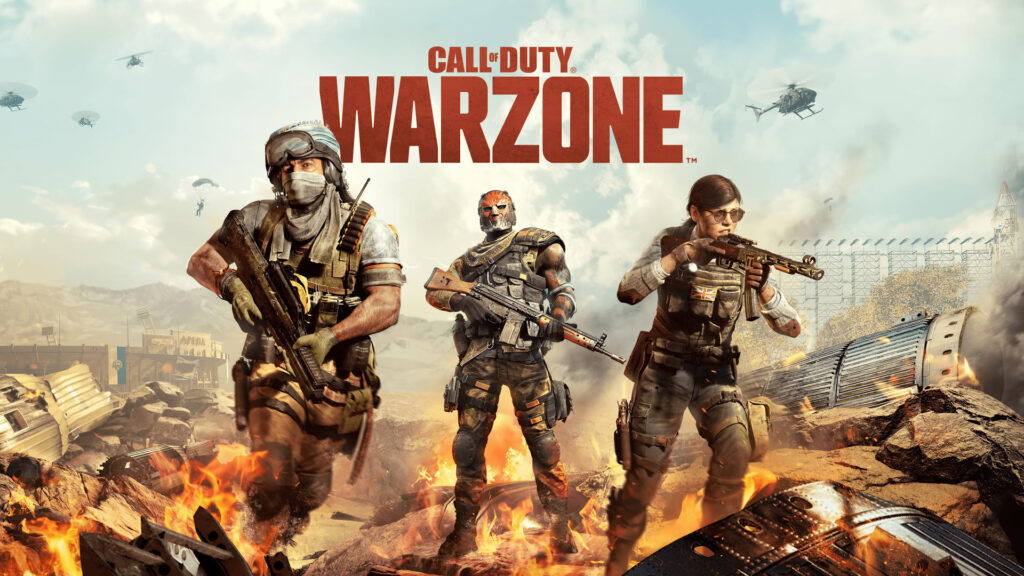 call of duty warzone background