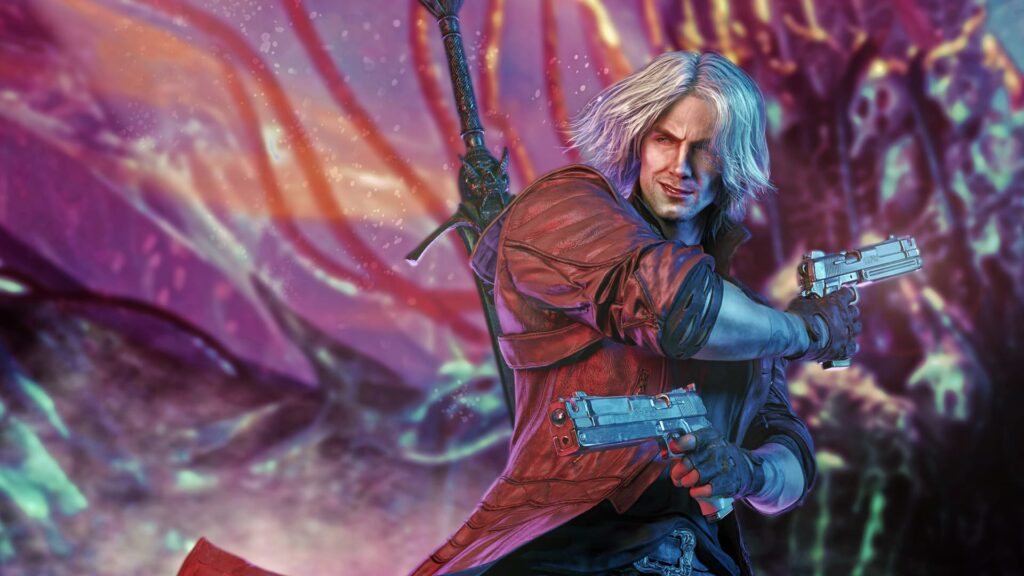 devil may cry laptop wallpaper